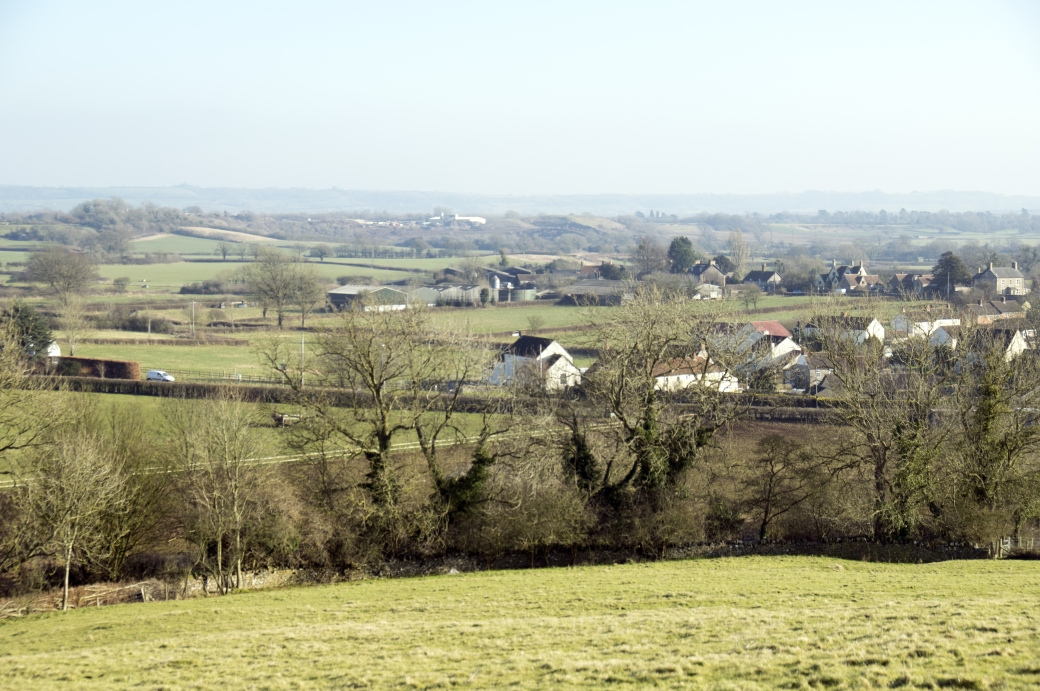Chapel from hill