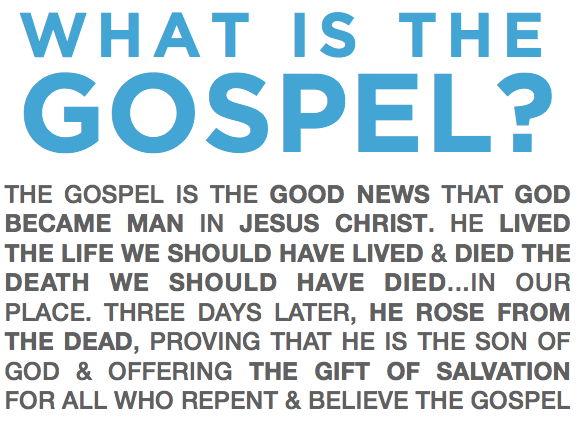 What-is-the-gospel-layout